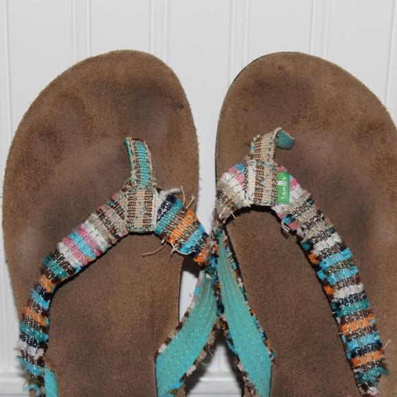Sanook Shoes - Blue Sanook Flip Flops